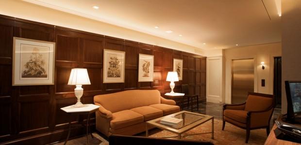 Upper East Side Co-Op - Lobby Wood Paneling