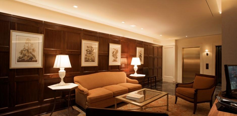 leather sofa or fabric sofa